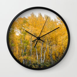 Fall Color in the Sierras Wall Clock