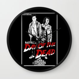 Day of the Dead (black) Wall Clock