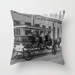 Going back New Orleans Throw Pillow