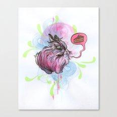Chubby Bunny Canvas Print
