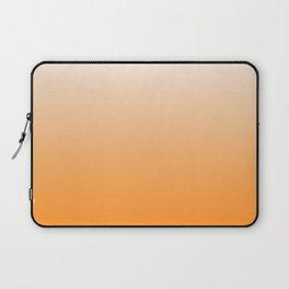 White and Orange Gradient 023 Laptop Sleeve