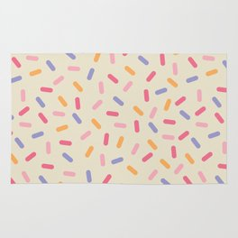 Party Mix Sprinkle Confetti Pattern Rug