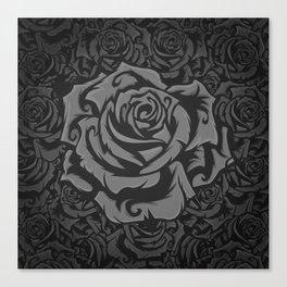 Grey Roses!!! Canvas Print