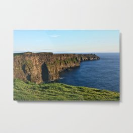 Cliffs of Moher, County Clare, Ireland Metal Print