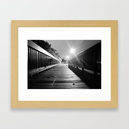 In The Night Air Framed Art Print