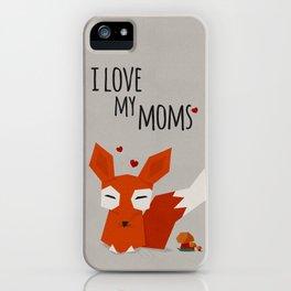 I Love my mums iPhone Case