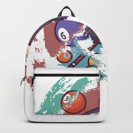 Billiard gift for Billiard Player Backpack