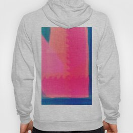 Art abstract pink blue Hoody