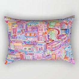 Big City Feeling Rectangular Pillow