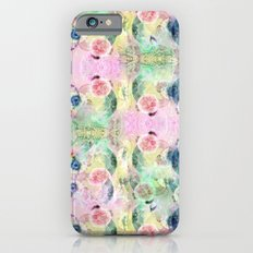 Ysmite Argate-crystal, floral, pastel, abstract iPhone 6s Slim Case