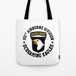 Screaming Eagles Tote Bag