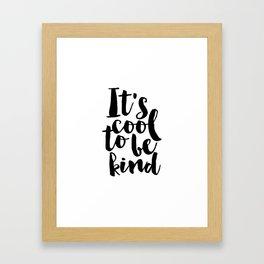 Be kind Be Brave Kids Gift Nursery Print Nursery Wall Art Children Print Typography Print Framed Art Print