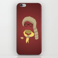 sam smith iPhone & iPod Skins featuring Sam by John McKeever