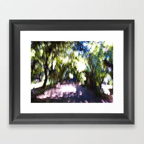 Boboli Gardens Framed Art Print