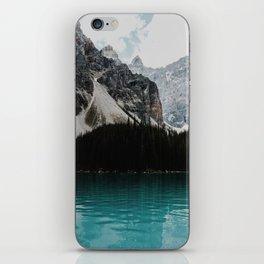 Lake Moraine, Banff National Park iPhone Skin