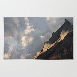 Glacier National Park Sunrise Rug