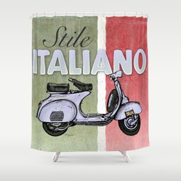 Stile Italiano Shower Curtain