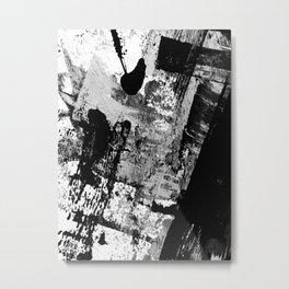 Black and White 01013 Metal Print