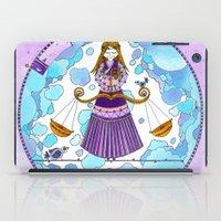 libra iPad Cases featuring Libra by Sandra Nascimento