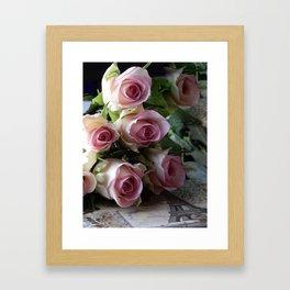 Roses From Paris Framed Art Print