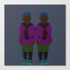 ☹ Bionic Twins ☹ Canvas Print