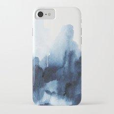 Indigo watercolor 2 iPhone 7 Slim Case