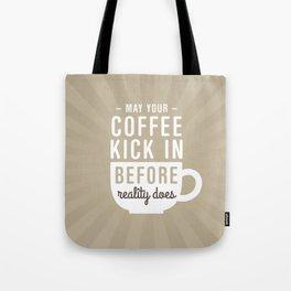 Coffee Reality Tote Bag