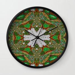 Novel Nausea Mandala Wall Clock