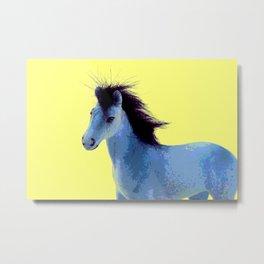 Pop Art Pony 2 Metal Print