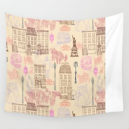 New York City 1900 Wall Tapestry