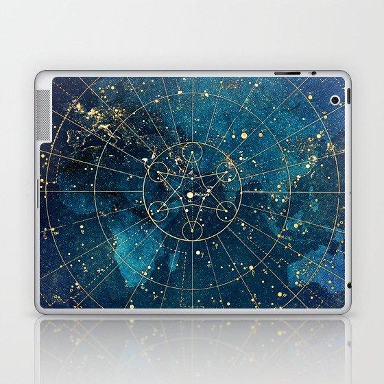Star Map :: City Lights Laptop & iPad Skin