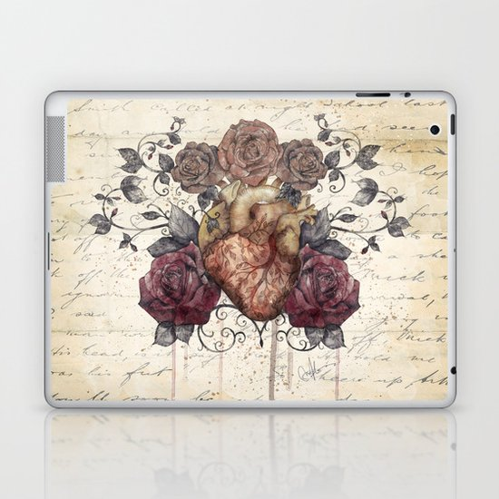 Flowers from my heart Laptop & iPad Skin