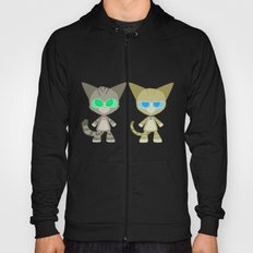 Cat Twins (Clara and Clarence Cat) Hoody