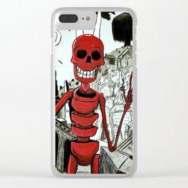 Raul, el rey de los muertos Clear iPhone Case