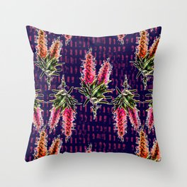 Beautiful Australian Native Flowers Throw Pillow