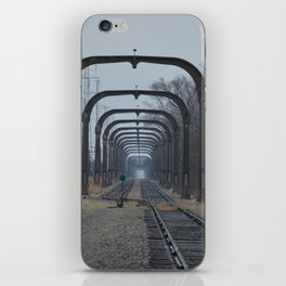 Train Track Pathway iPhone Skin