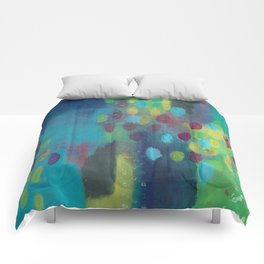 Rainy Day in Wonderland Comforters