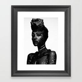 RAW Serie - Margaret Framed Art Print