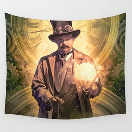 Time Roads Wall Tapestry