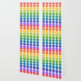 Colorful Polygon Pattern Wallpaper