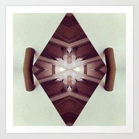 rafters Art Print