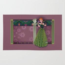 Frozen Anna Coronation Rug