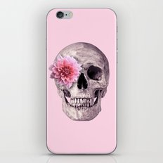 FLOWER SKULL iPhone Skin