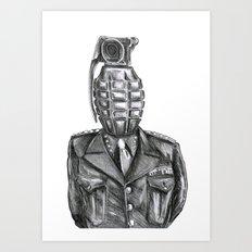 General Damage Art Print
