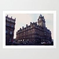 edinburgh Art Prints featuring Edinburgh by Margo Giannaklis Photography