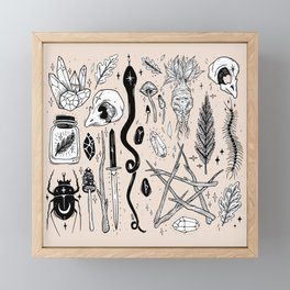 AUTUMN EQUINOX Framed Mini Art Print