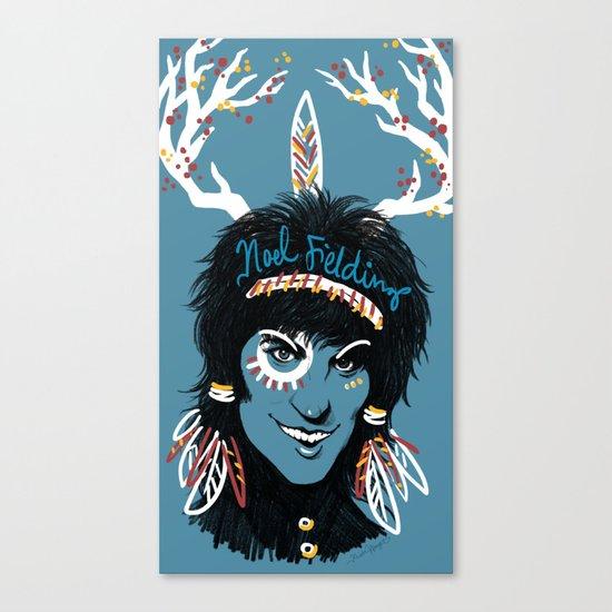 Blue Diamonds Canvas Print