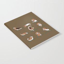 Beagle Yoga Notebook