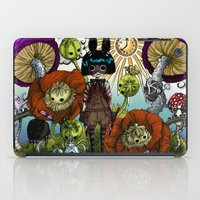 monster inc iPad Cases featuring Wonderland Inc by Li Boggs