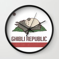 Ghibli Republic Wall Clock